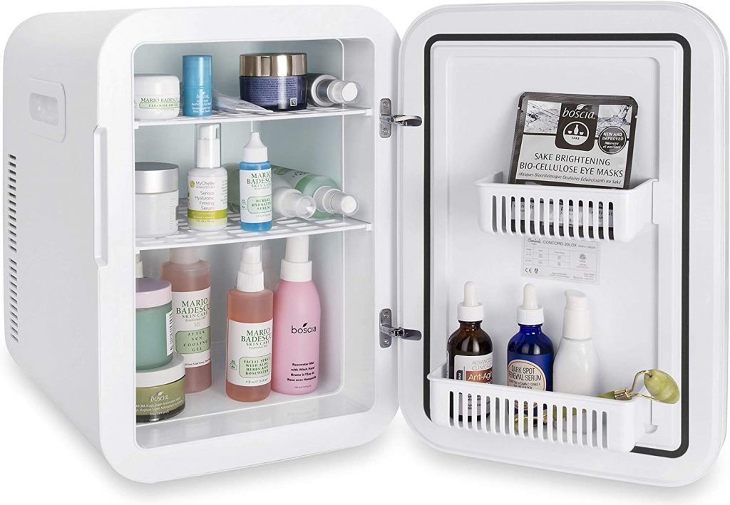 Cooluli Infinity Mini Fridge for Makeup