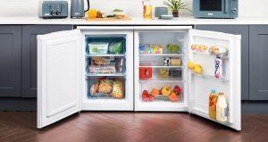 Extra food storage in mini fridge